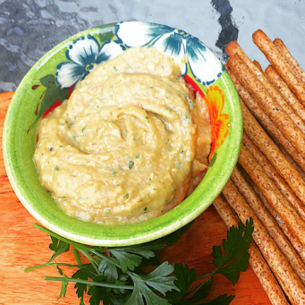 Eggplant-dip-babaganoush-recipe