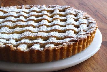 poached-apple-pear-banana-shortbread-tart-1